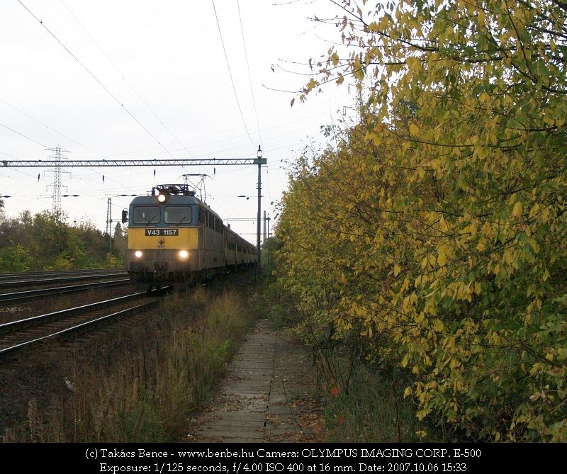 V43 1157 Ferencváros elõtt fotó