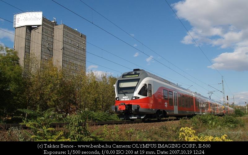 5341 004-9 Székesfehérvár felé indul fotó