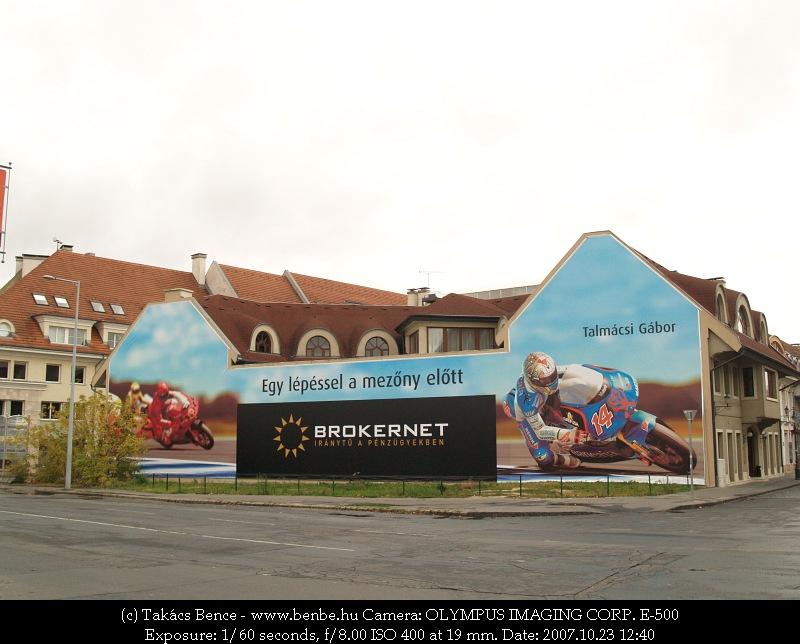 Brokernet reklám Talmácsi Gábor világbajnokkal fotó