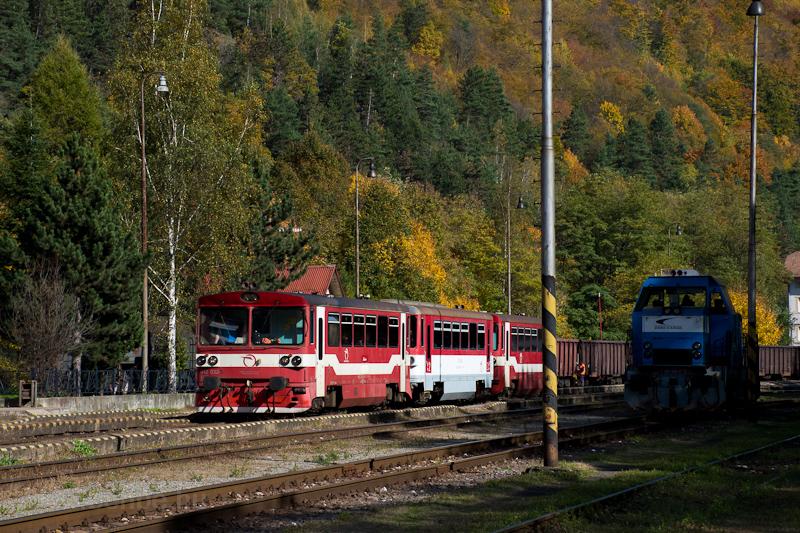 A ŽSSK 812 032-5 és a  fotó