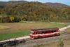 A ŽSSK 812 005-1 Hnúš�a zastávka és Nyusta-Likér között