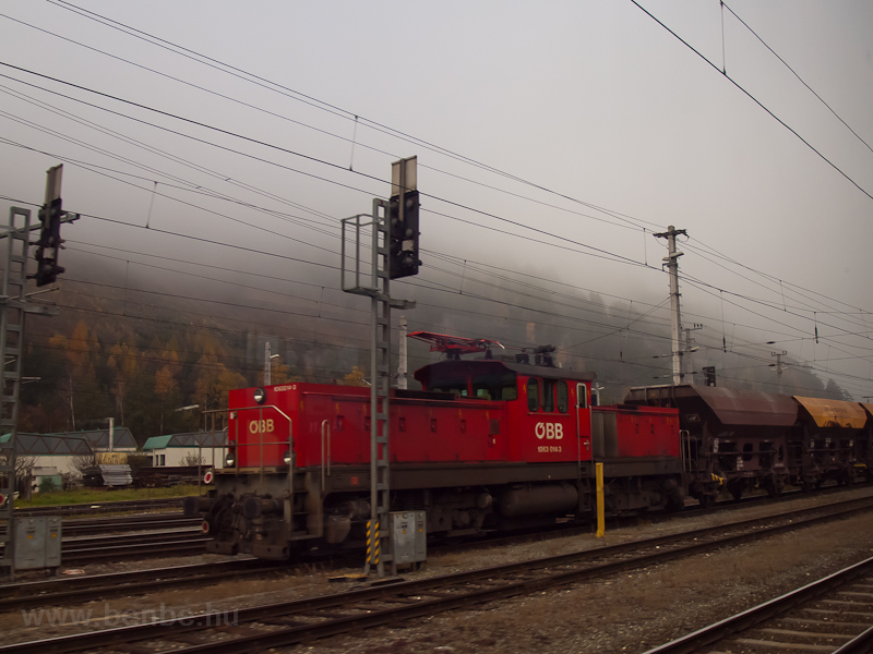 The ÖBB 1063 014 seen at St photo