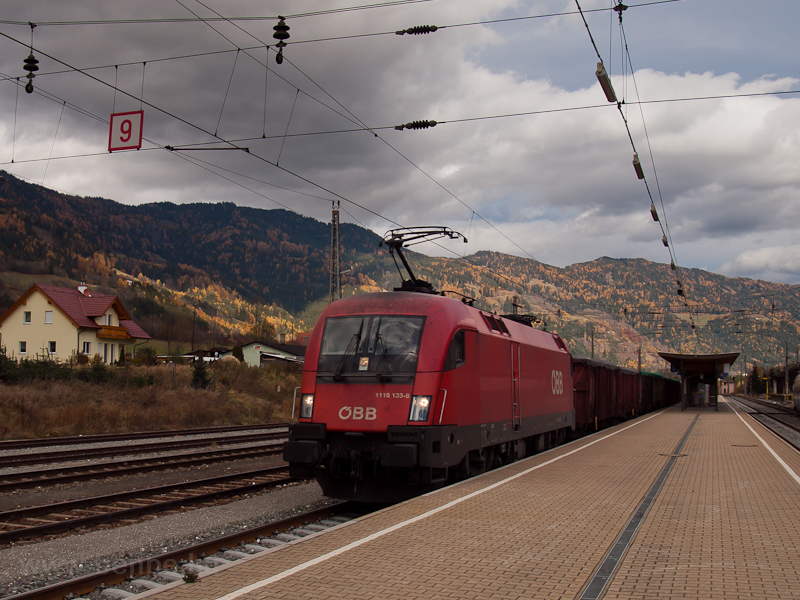 The ÖBB 1116 133 seen at Un photo