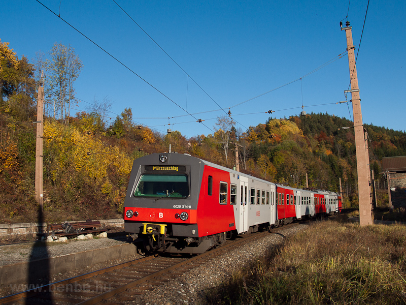 The ÖBB 6020 314-8 seen at  photo