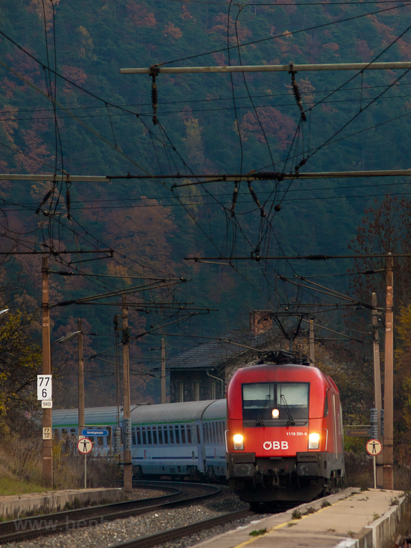 The ÖBB 1116 251 seen at Sc photo