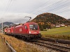 The ÖBB 1116 274 seen between Mariahof-St. Lambrecht and Neumarkt in Steiermark