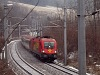 The GYSEV 1116 058-7 seen between Payerbach-Reichenau and Küb
