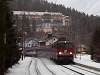 The ÖBB 1142 705-1 seen at Wolfsbergkogel