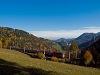 Az ÖBB 1144-es Alpesi Porszívója  Klamm-Schottwien és Breitenstein között egy gyorsvonattal