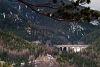 Jellegzetes semmeringi panoráma - gráci IC ÖBB 1142-essel a Kalte Rinne-viadukton