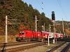Az ÖBB 1116 117 Payerbach-Reichenau állomásra érkezik a RegioExpresszel