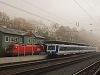 Az ÖBB 1116 084-3 és a 6020 305-6 Payerbach-Reichenau állomáson