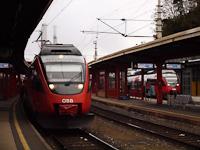 Az ÖBB 4024 037 Bruck an der Mur állomáson
