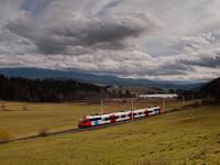 Az ÖBB 4024 037-6 Neumarkt in Steiermark és Mariahof-St. Lambrecht között