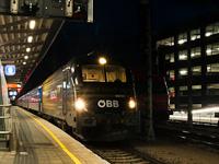 Az ÖBB 1216 210 Wiener Neustadt állomáson