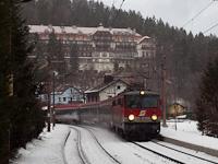 A ÖBB 1142 705-1 Wolfsbergkogel megállóhelyen