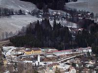 ÖBB 1142-es IC-nek csúfolt vonatával Breitensteinben