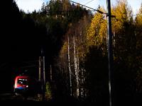 A RailCargoHungaria 1116 013 Breitenstein és Wolfsbergkogel között