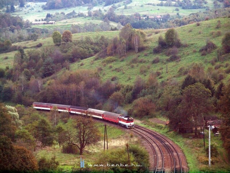 A Gemeran gyorsvonat Dívényoroszi megállónál fotó