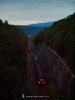 A Gemeran gyorsvonat Dívényoroszi megállónál