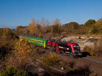 A GYSEV 470 503  Wagner-Taurus  Szár és Bicske között  RaaberCity  kocsikat vontatva