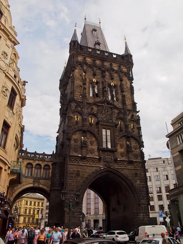 Prága - a lőportorony fotó