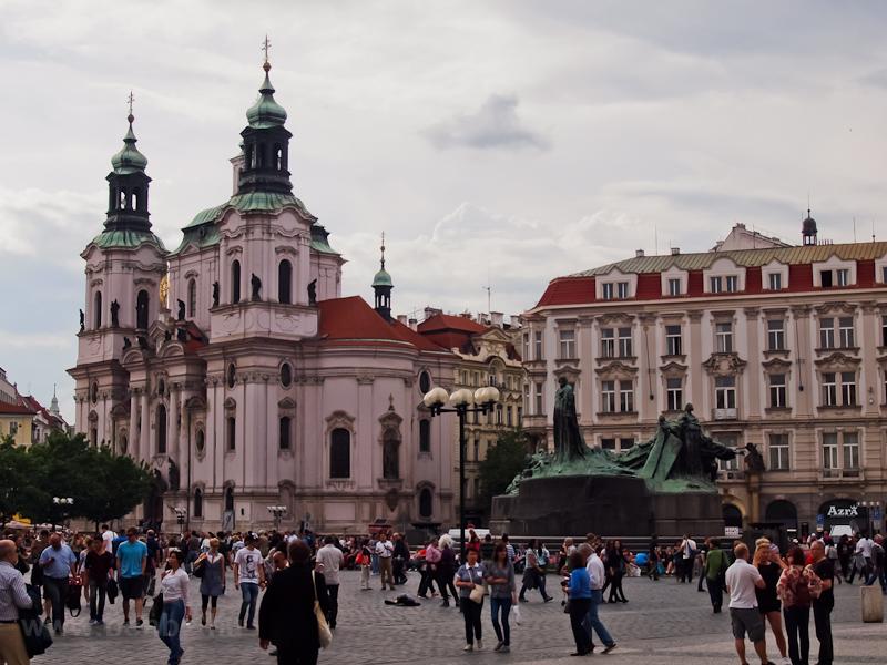 Prága - A Husz János emlékm fotó