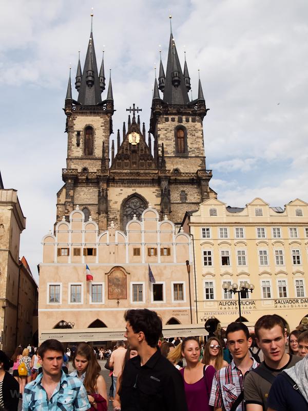 Prága - a Tyn székesegyház  fotó