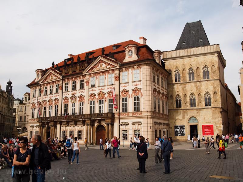 Prága - az Óvárosi tér (Sta fotó