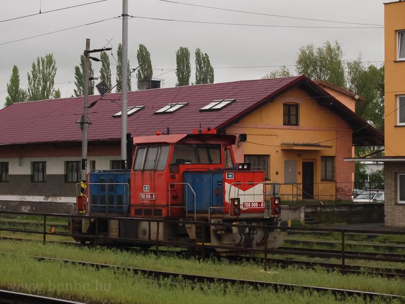 A ČD Cargo 708 008-8 p fotó