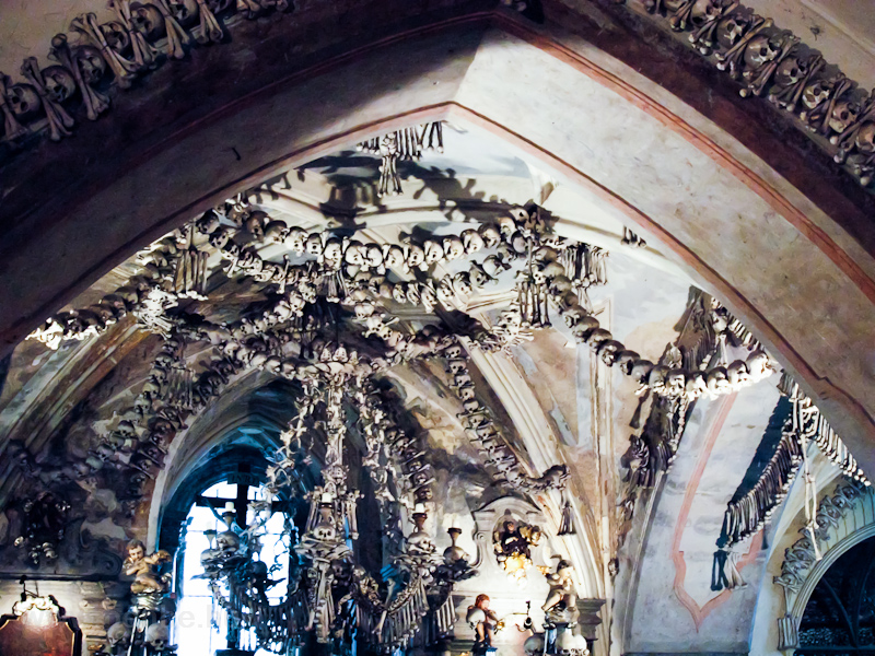 Kutná Hora - the Bone Chapel in the Sedlec Ossuary photo