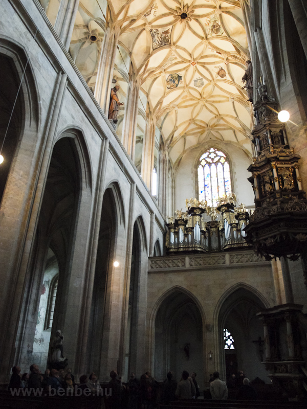 Kutná Hora - a Szent Barbara székesegyház fotó