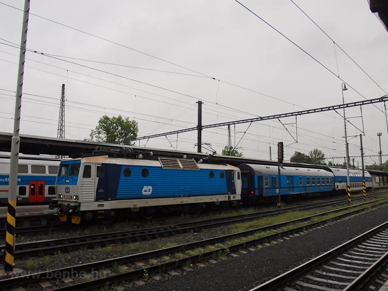A ČD 363 114-0 Kolín á fotó