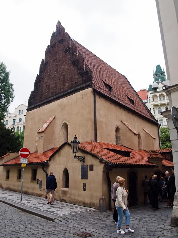 Prága - a Régi-Új Zsinagóga fotó