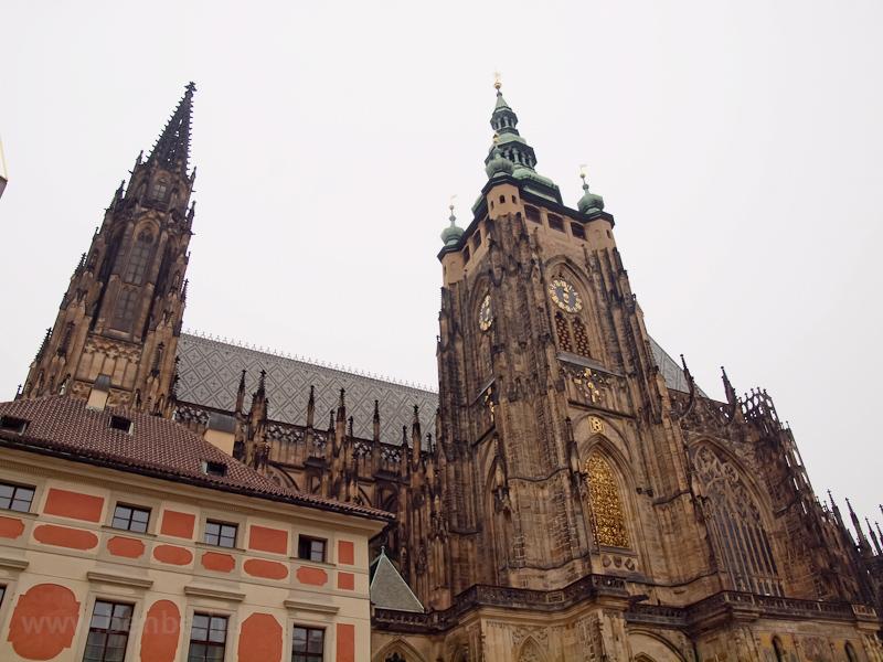 Prága - Szent Vitus székesegyház fotó