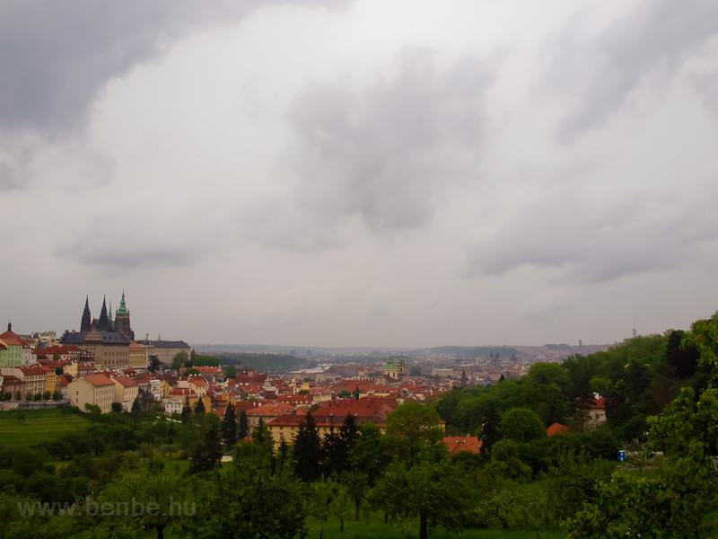 Prága - kilátás a Petř fotó