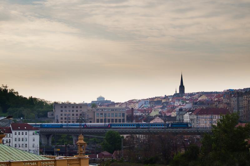 Egy ČD 363-as Praha hl fotó