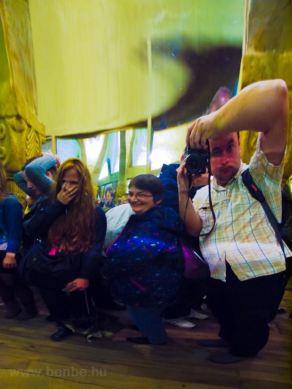 Tükörlabirintus a sikló fölső állomása közelében fotó