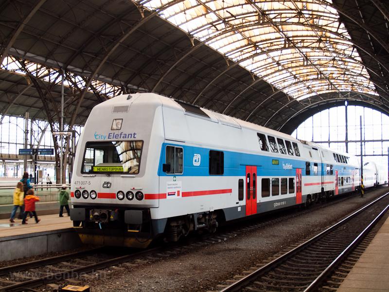 A ČD 471 007-5 Praha h fotó