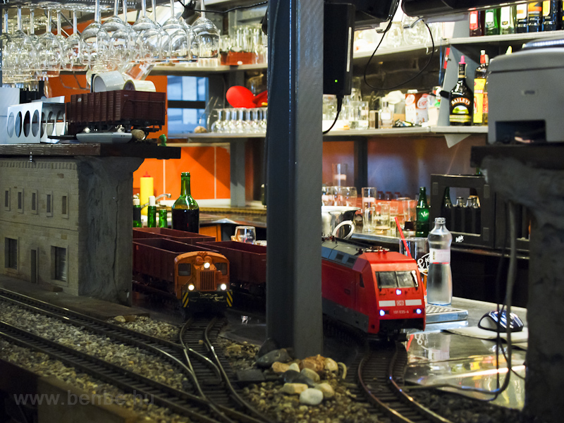 Vytopna restaurant, home to the beer-carrier LGB garden trains! photo