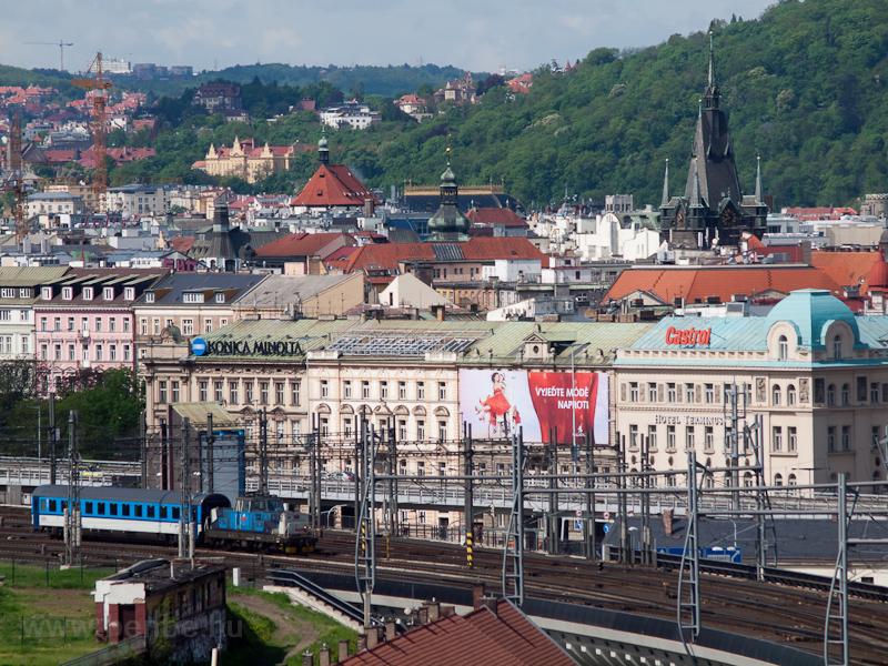 A 111 010-5 Prágában fotó
