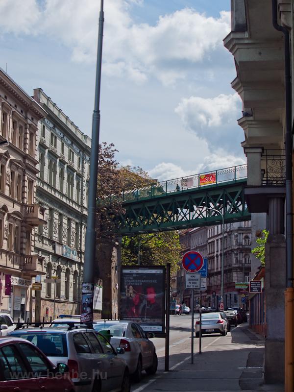 A régi viadukt Praha hlavní nádraží északi kijáratánál fotó