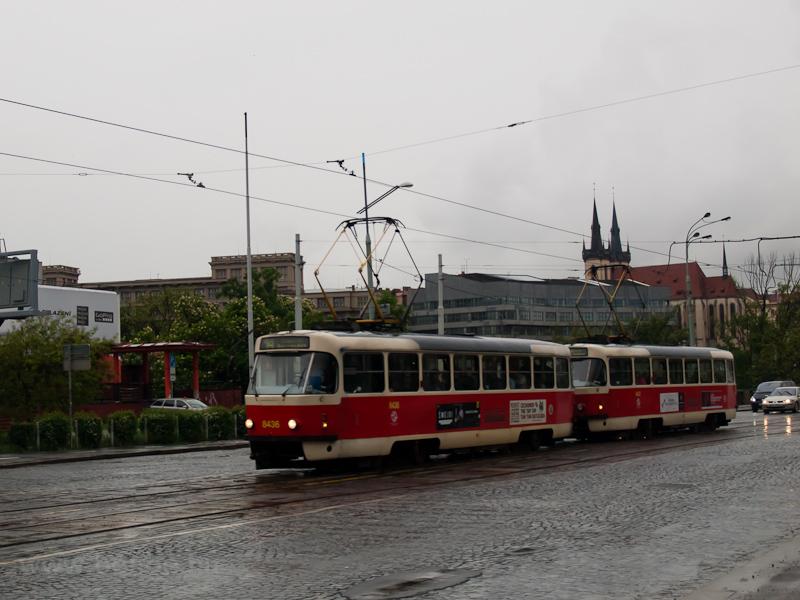 A 8436 pályaszámú Tatra T3- fotó
