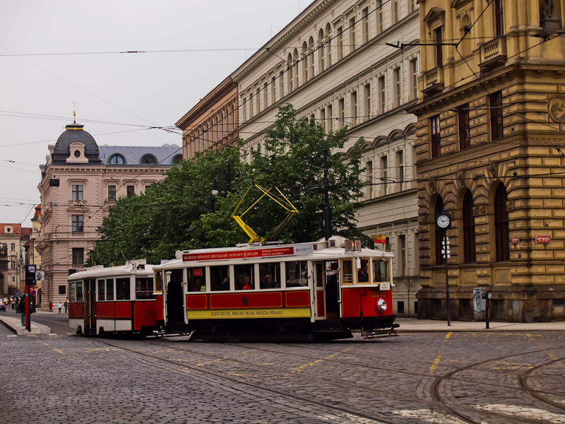 The Prague historic tram number 2272 at Jan Palach square photo