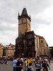 Prague - the old town hall at Old Town square (Staromestské námestí)