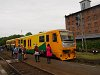 Az 914 183-9 dízel motorkocsi Kutná Hora mesto állomáson