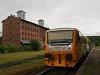Az 814 184-8 dízel motorkocsi Kutná Hora mesto állomáson