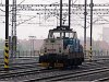 Let's see the things that are the most important to the visitors of this page: here's the ČD 111 010-5 DC shunter seen at Prague main station