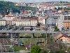 Búváros ingavonat érkezik Praha Masarykovo nádražíra