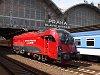 Az ÖBB 1216 229 <q>railjet</q> Praha hlavní nádraží állomáson